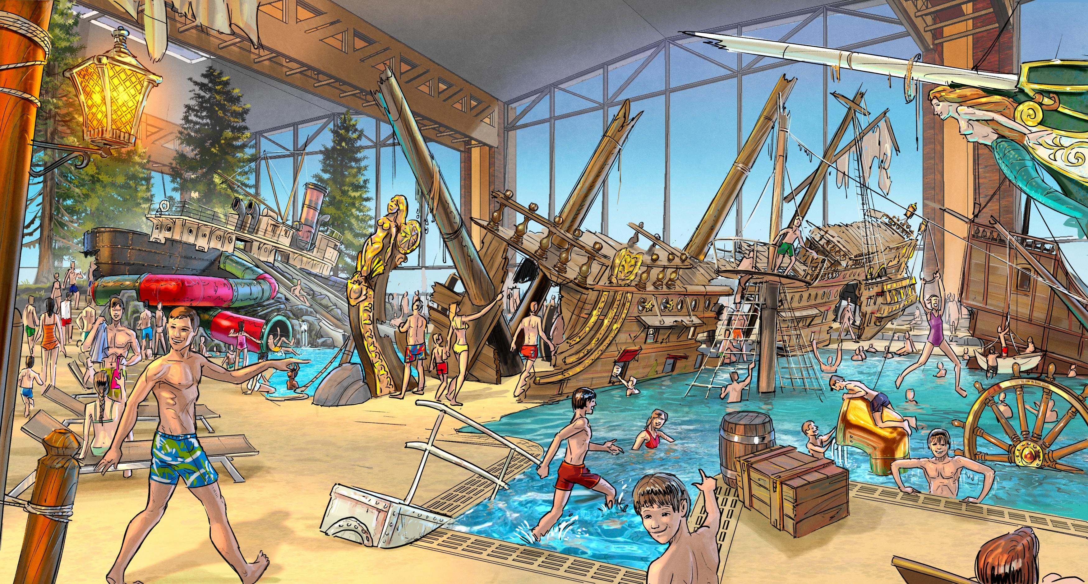"""""""Skip Strand"""" ist ein wahrer Abenteuerspielplatz für kleine und große Seeräuber!"""