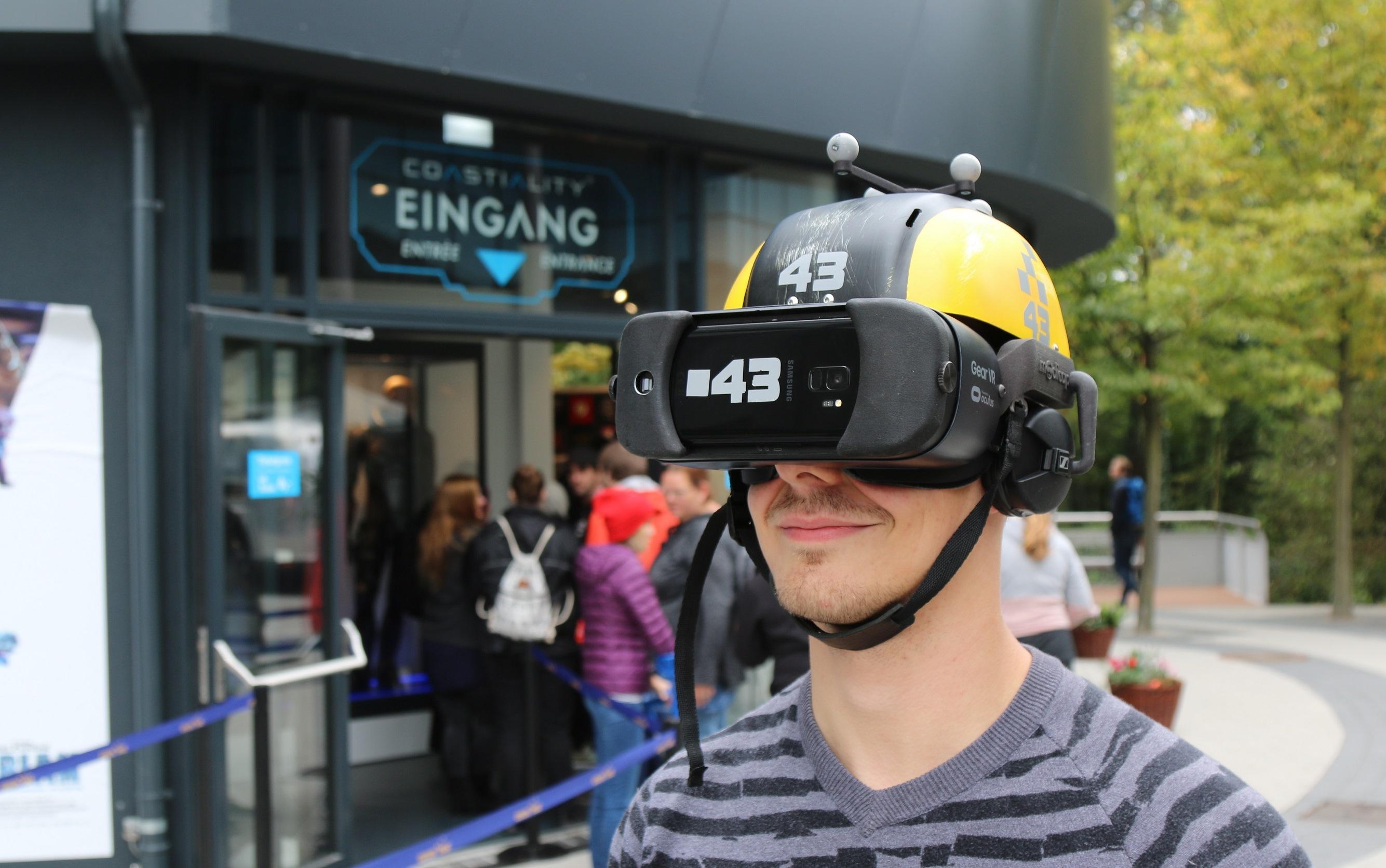 """Matthias Krempl hat das innovative """"Eurosat Coastiality"""" mit der besonderen """"Kopfbedeckung"""" getestet"""