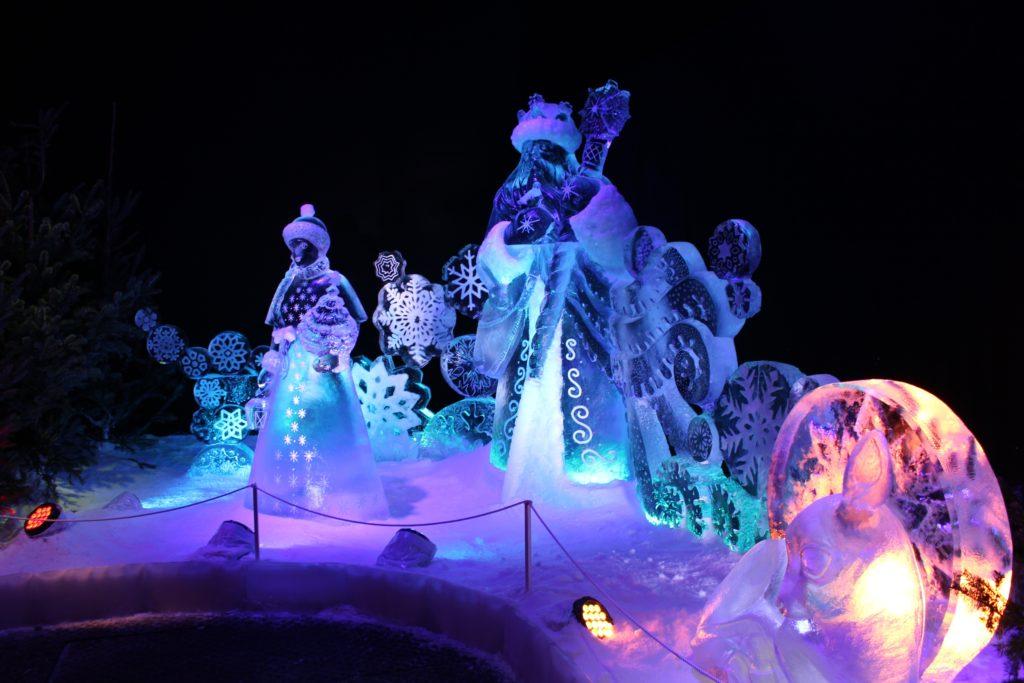 """So schön glitzerte und funkelte es in der Wintersaison 2017/18 bei """"MAGIC ICE – Ed & Eddas magische Märchenwelt"""""""