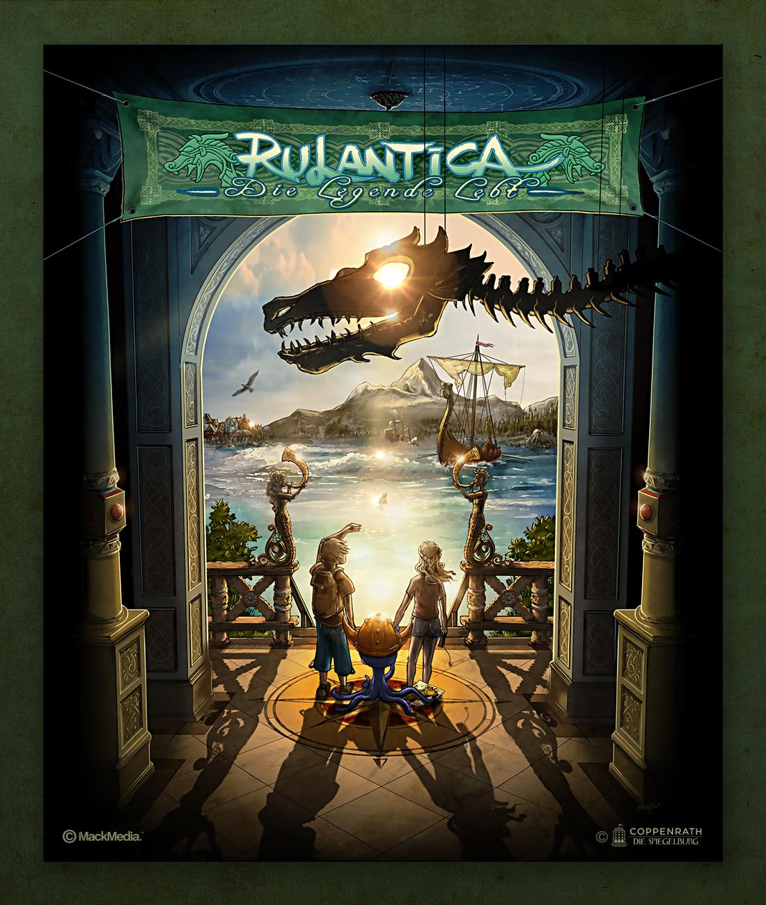 So wird der Buchtitel der ACE-Rulantica-Reihe im Coppenrath-Verlag aussehen