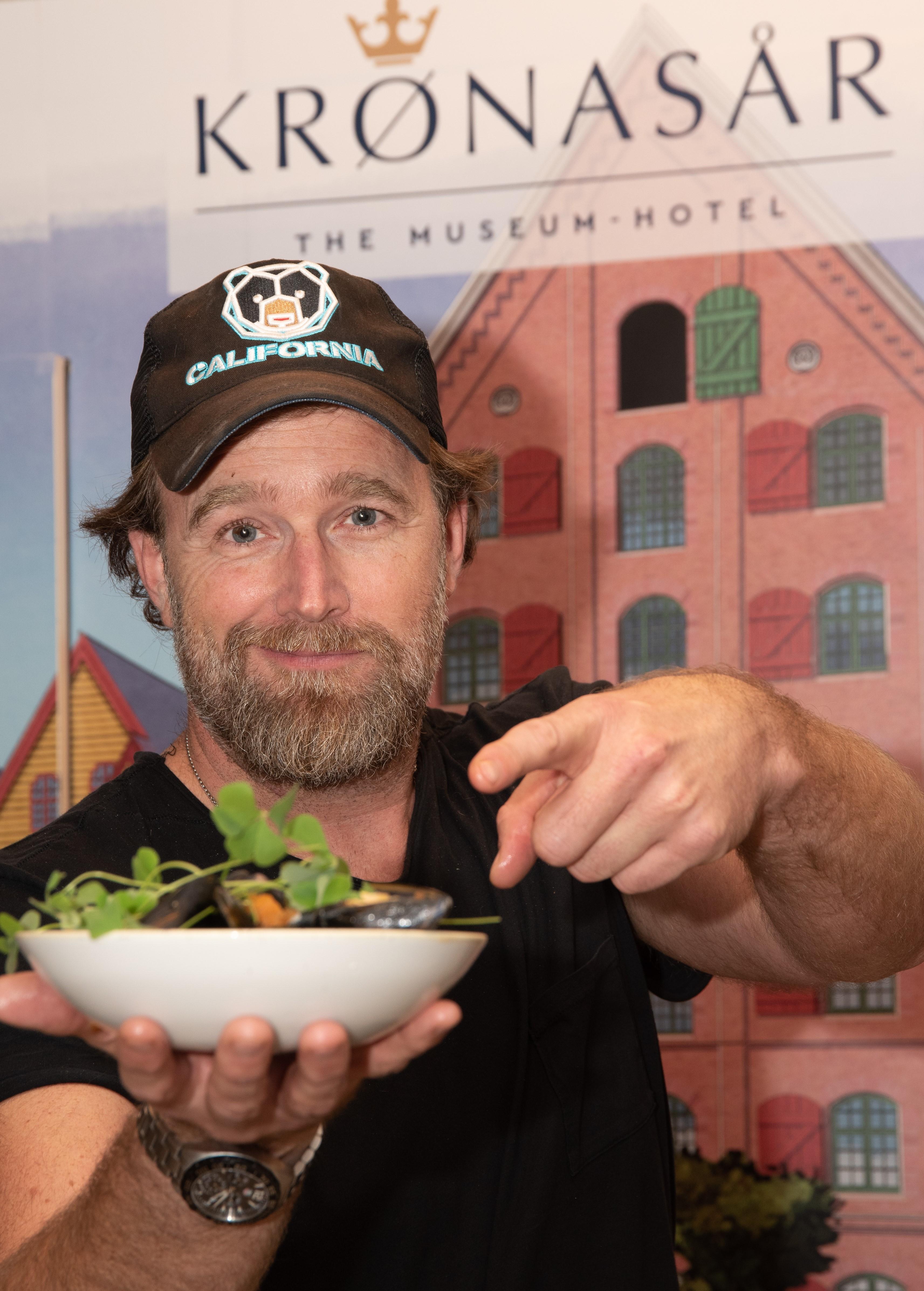 Brian Bojsen, hier bei der XXL-Closing Küchenparty in den Europa-Park Hotels, berät in Sachen Gastro-Angebot für Krønasår