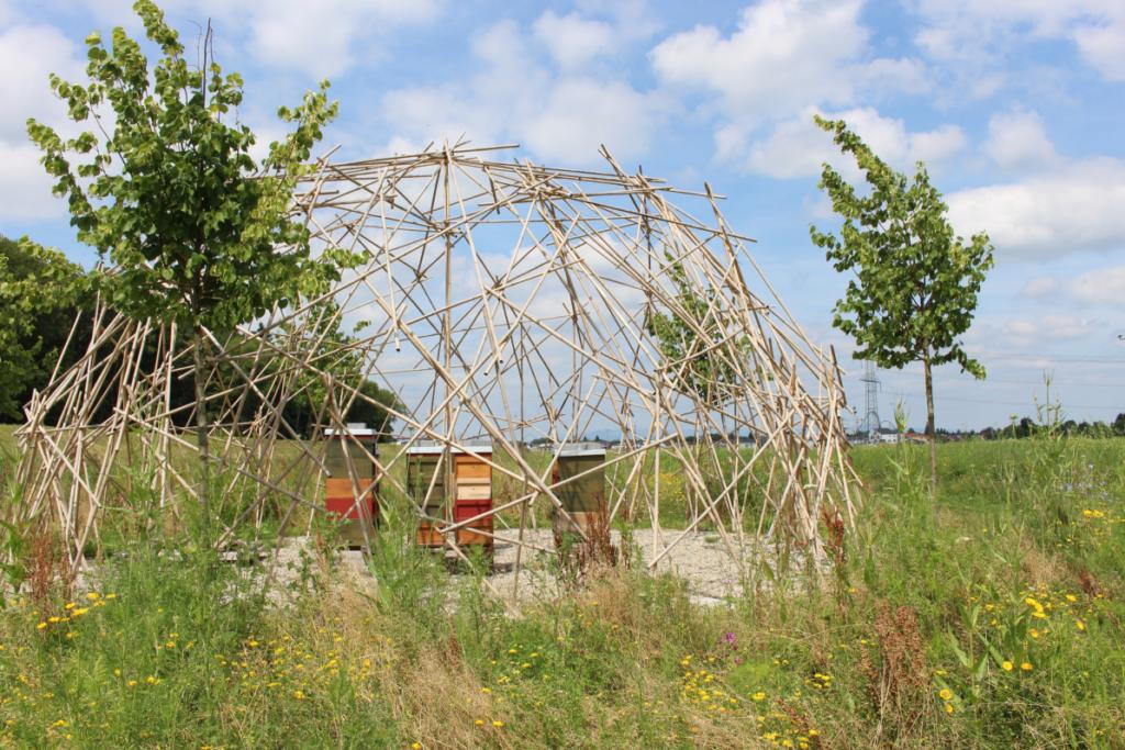 Der Bienenpavillon ist nur eine von vielen ökologischen Maßnahmen rund um Rulantica.