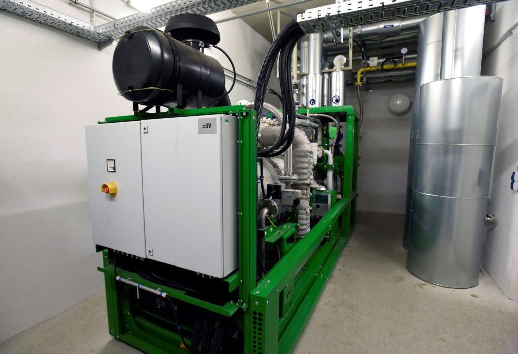 Eines von insgesamt vier Blockkraftwerken zur eigenen Stromproduktion im Europa-Park