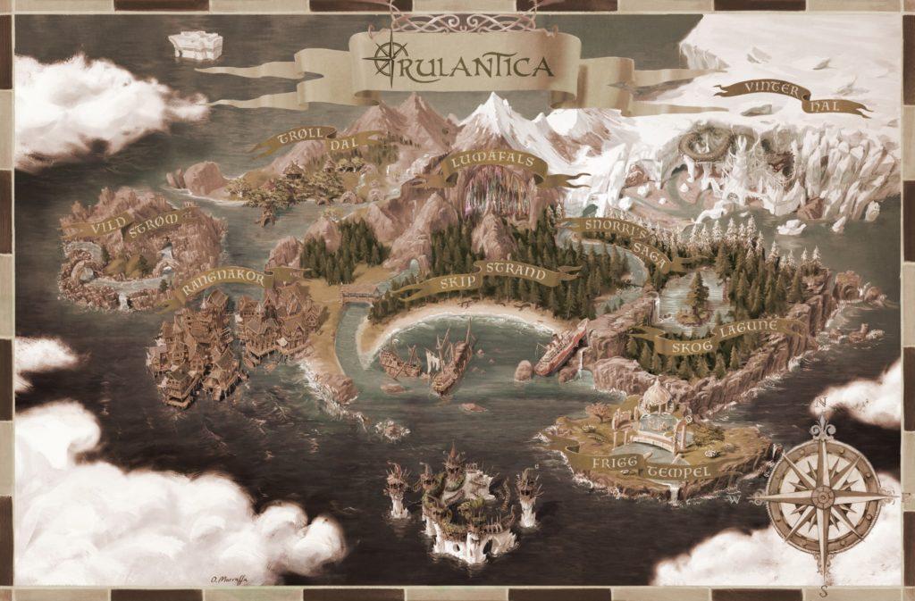 Die sagenumwobene Insel Rulantica ist die Heimat von Meermenschen und anderen fabelhaften Wesen.