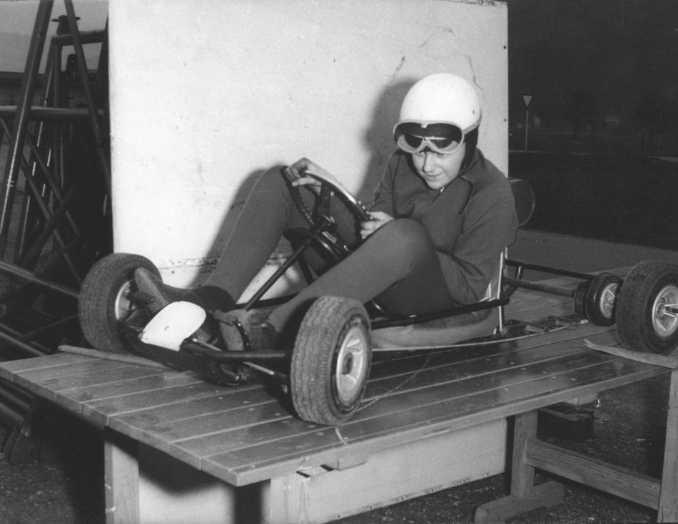 Schon als kleiner Junge liebte Roland Mack alles, was schnell fährt.