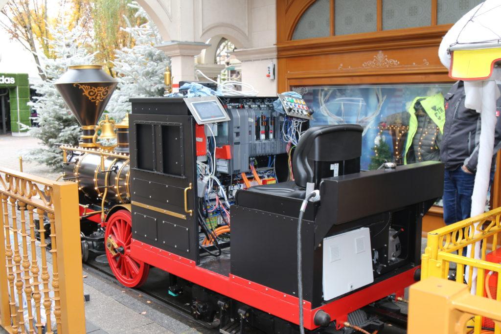 Die benötigten Komponenten wurden in Kooperation mit dem Unternehmen SEW eigens für die Panoramabahn entwickelt.