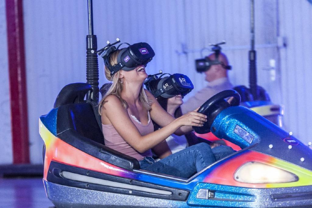 Les autos-tamponneuses en VR.