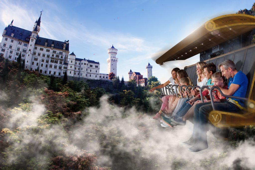 Le film « Fly over Europe » a été produit spécialement pour Voletarium.