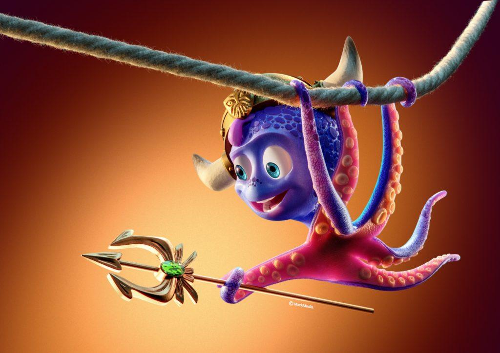La pieuvre à 6 tentacules Snorri a déjà de nombreux fans.