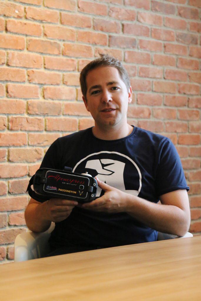Tobias Mundinger, expert en Storytelling chez MackNeXT.