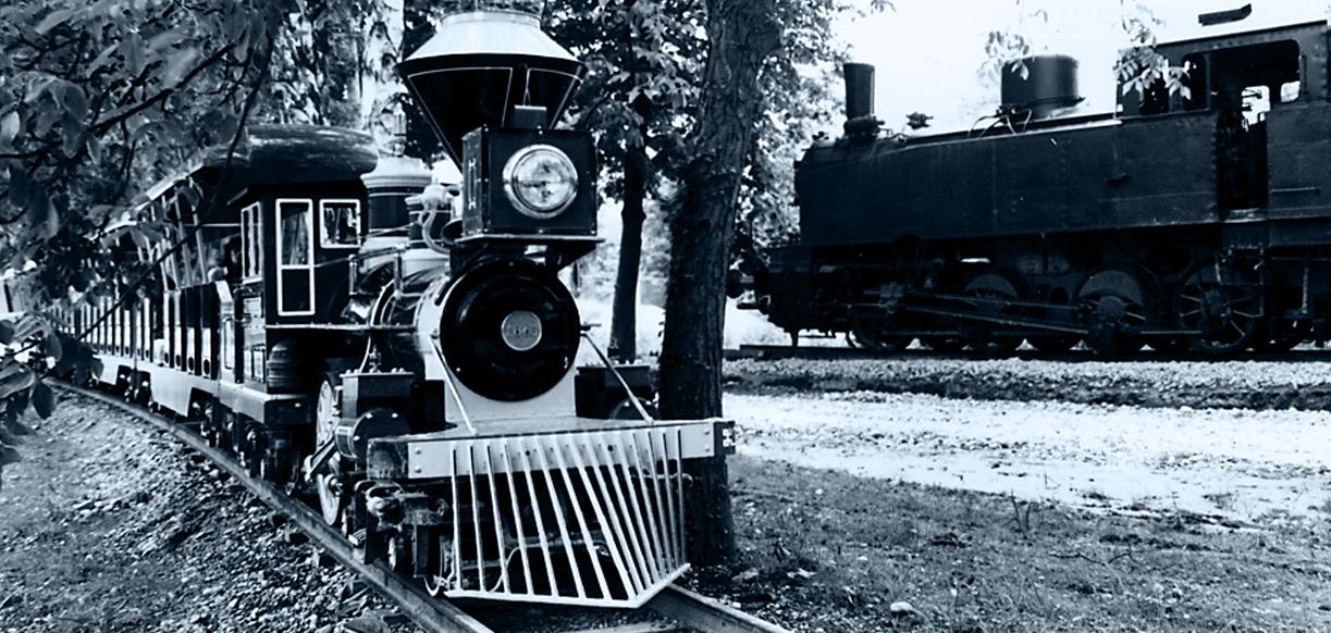 Le train western, aujourd'hui le train panoramique