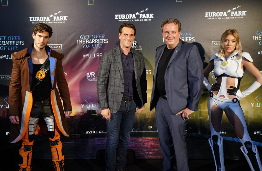 Thomas et Michael Mack étaient présents lors de l'inauguration de YULLBE « Traumatica ».