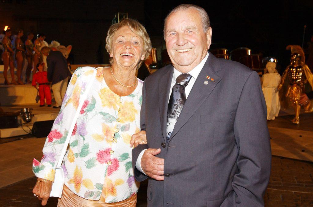 Das Ehepaar Franz und Liesel Mack