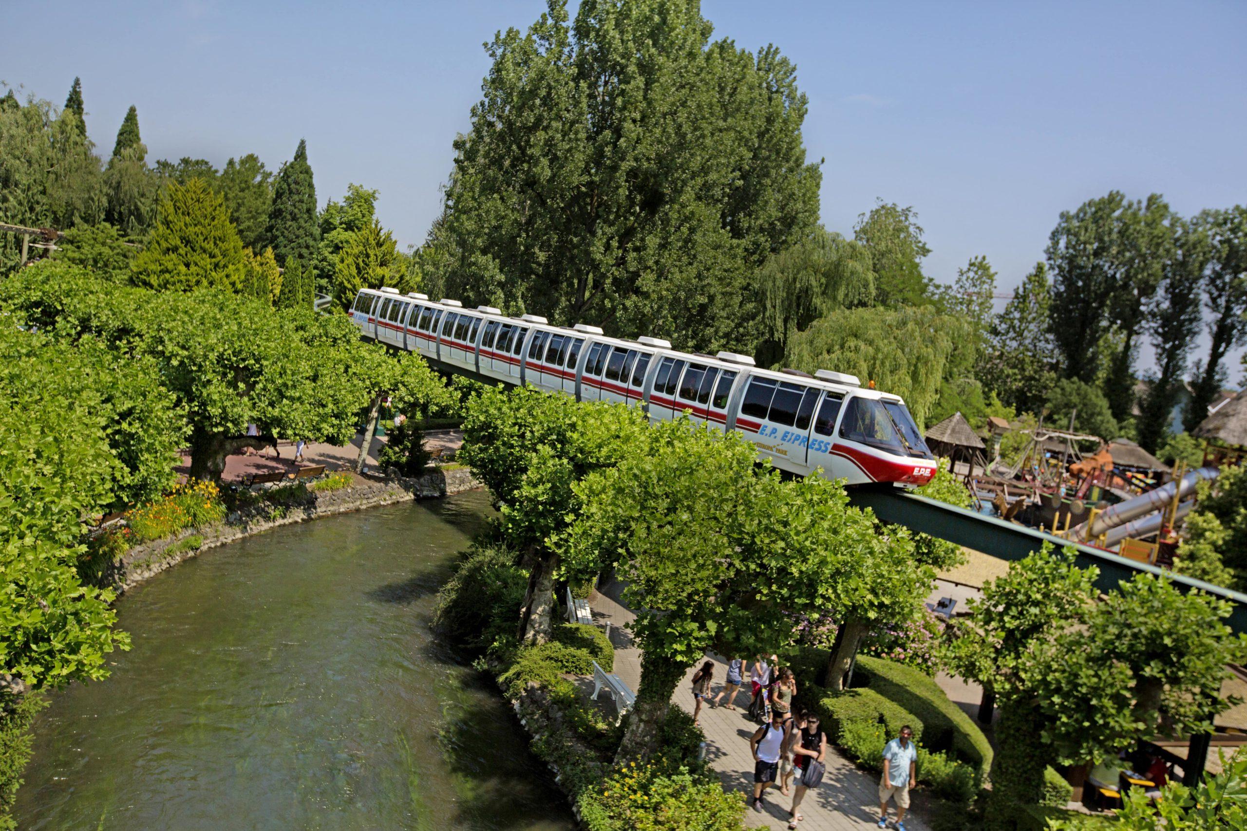 Rien de mieux qu'un tour à bord de l'EP-Express pour admirer les beaux espaces verts !