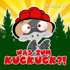"""Podcast Logo """"Was Zum Kuckuck?!"""""""
