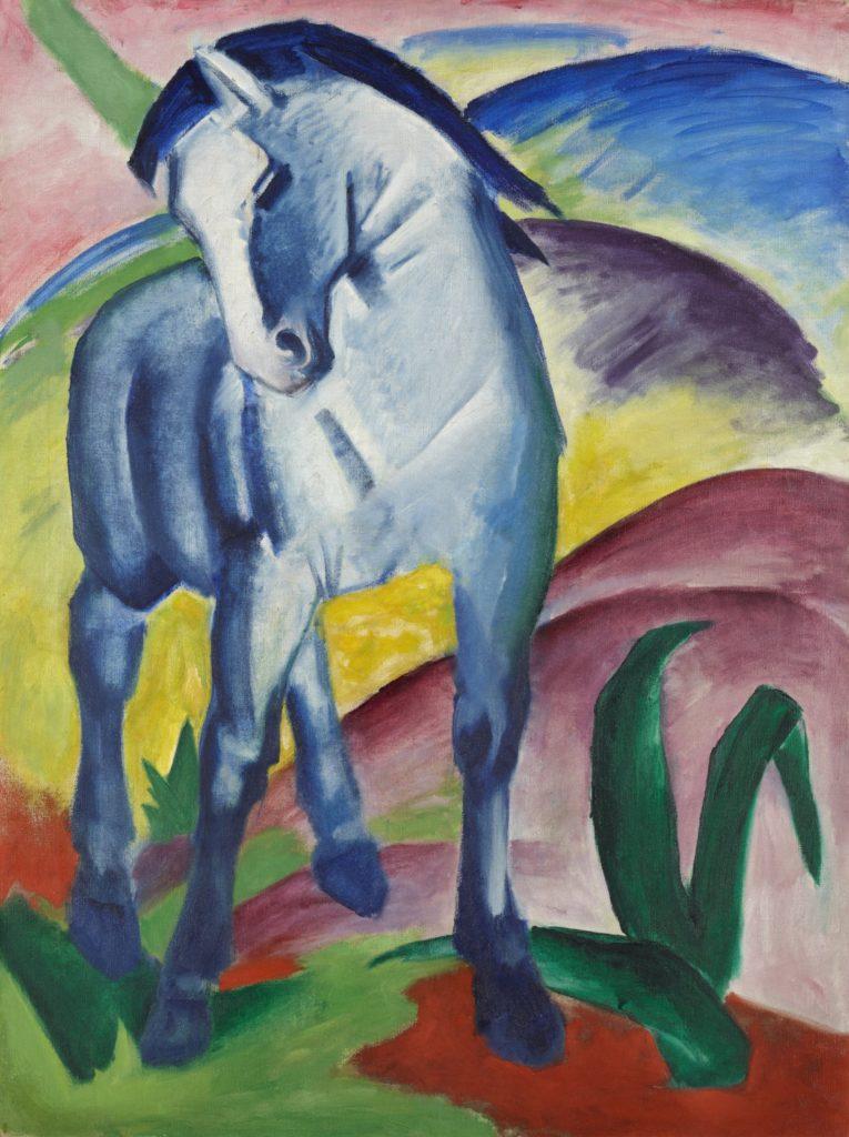 Original Franz Marc: Blaues Pferd (1911)