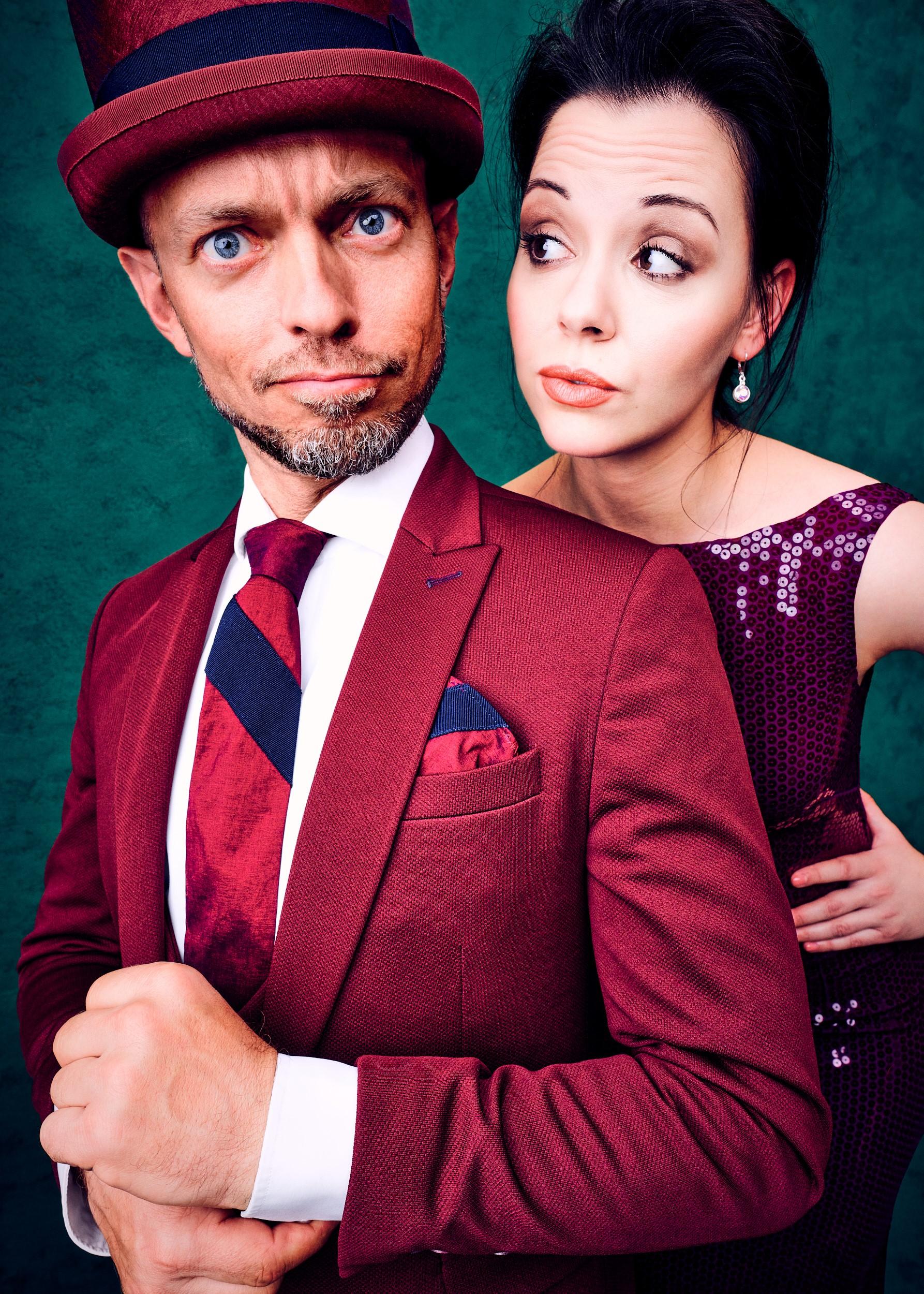 Die Protagonisten der Show: Timothy Trust und Diamond Diaz.