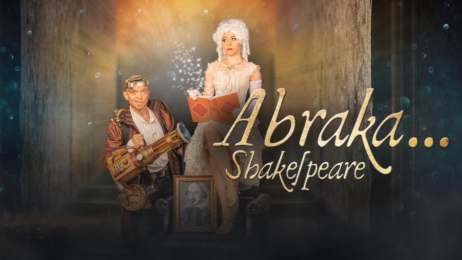 "Showplakat ""Abraka...Shakespeare!"""