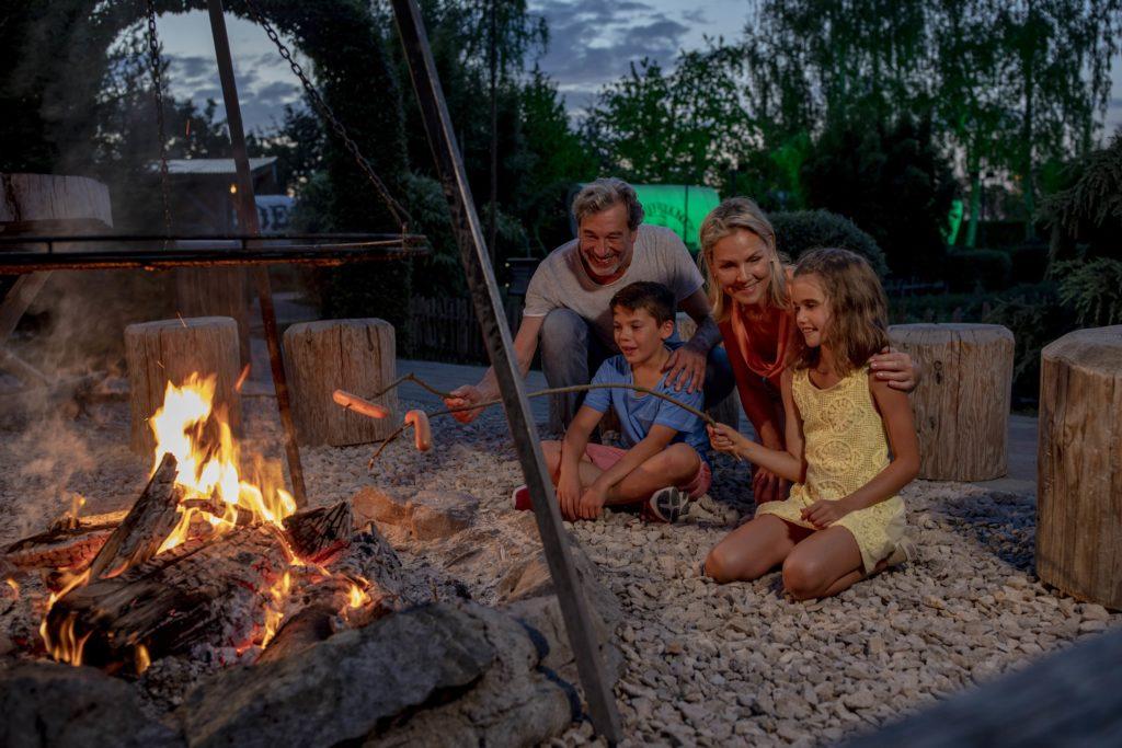 Une belle soirée au coin du feu...